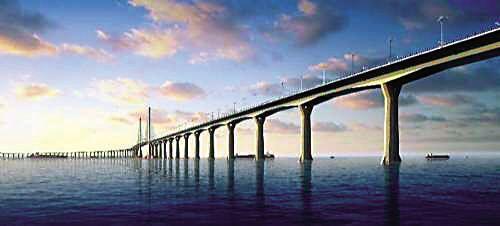 港珠澳大桥的远程振动监测及海浪作用下的桥梁振动分析