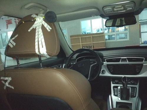 某型号SUV汽车的噪声测试