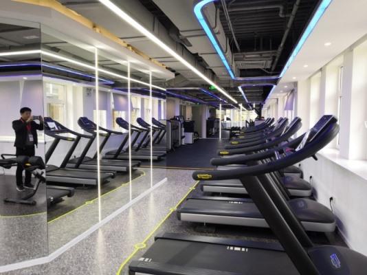 北京某公司大厦健身房室内振动测试