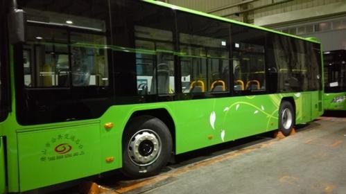 新能源电动公交汽车的振动噪声测试