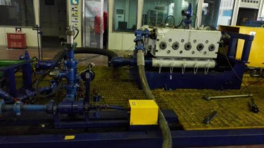 中石油管道公司石油管道的振动测试